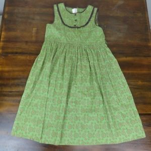 Strasburg Girls Sleeveless Dress Green Size 12Y